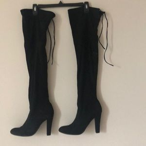 Steven madden knee high boots.